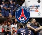 Paris Saint Germain, PSG, Ligue 1 2012-2013 meister, Frankreich Fußball-Liga