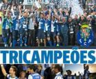 Porto, Portugal-Fußball-Liga 2012-2013 meister, erste divisione nationale