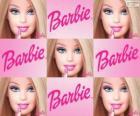 Collage von Barbie