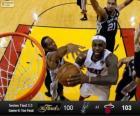 2013 NBA Finals, 6th Spiel, San Antonio Spurs 100 - Miami Heat 103