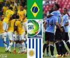 Brasilien - Uruguay, Halbfinale, Konföderationen-Pokal 2013