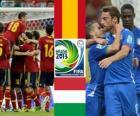 Spanien - Italien, Halbfinale, Konföderationen-Pokal 2013