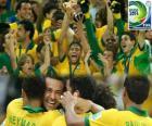 Brasilien, Meister der Copa FIFA Konföderationen 2013