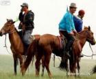 Xilingol Pferd mit Ursprung in der Mongolei