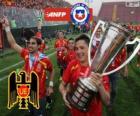 Unión Española, Meister der Torneo de Transición 2013, Chile