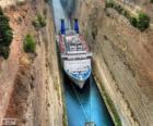 Kanal von Korinth, Griechenland