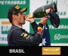 Mark Webber - Red Bull - Grand Prix von Brasilien 2013, 2 º klassifiziert