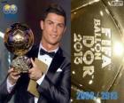 FIFA Ballon d ' or 2013 Gewinner Cristiano Ronaldo