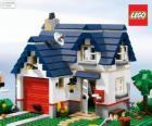 Ein Lego-Haus