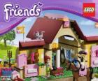 Heartlake Stallungen, Lego Friends