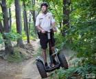 Segway, ein elektrisch angetriebenes Einpersonen-Transportmittel