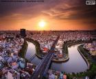 Stadt Ho Chi Minh Stadt, Vietnam