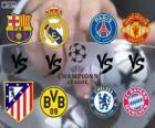 Champions League - UEFA Champions League 2013-14 Viertelfinale