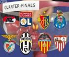 UEFA Europa League 2013-14 im Viertelfinale