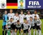 Auswahl an Deutschland, Gruppe G, Brasilien 2014