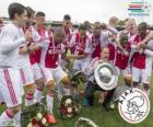 Ajax Amsterdam, Meister der niederländischen Fußball-Liga Eredivisie 2013-2014