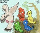 Vögel von Farben, Julieta Vitali
