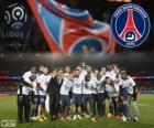 Paris Saint Germain, PSG, Ligue 1 2013-2014-Champion, Frankreich Fußball-Liga