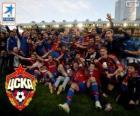ZSKA Moskau, Champion Liga Premier 2013-2014, der russischen Fußball-Liga