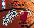 2014 NBA Finale. San Antonio Spurs Vs Miami Heat