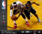 2014 NBA Finals, 4. Match, San Antonio Spurs 107 - Miami Heat 86