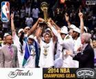 Spurs, 2014 NBA-Meister
