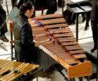 Das Vibraphon oder Vibrafon ist als Metallophon