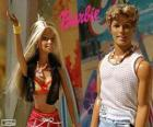 Barbie und Ken im Sommer
