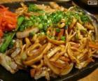 Yakisoba, japanisches Essen