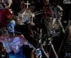 Halloween Skelette