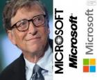 Bill Gates, US-amerikanischer Unternehmer, Programmierer, Mitbegründer des Software-Unternehmens Microsoft