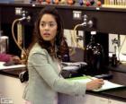 Gabriella Montez im Labor