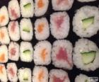 Makis, variante von sushi