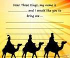 Brief an die Heiligen drei Könige