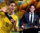 FIFA Puskás Award 2014 für James Rodríguez