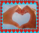 Glücklich Valentinstag