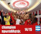 Olympiacos FC Meister 2014-2015