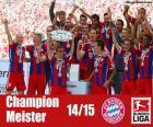 FC Bayern München, Meister 2014-2015