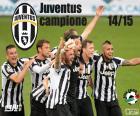 Juventus Meister 2014-20015