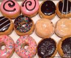 Verschiedene Donuts