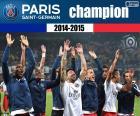 PSG, meister 2014-2015