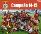 Benfica, meister 2014-2015