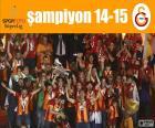 Galatasaray, Meister 14-15