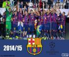 FC Barcelona Meister Champions League 14-15