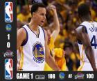 2015 NBA Finale, Spiel 1