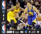 2015 NBA Finale, Spiel 6