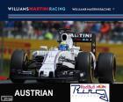 Felipe Massa, Williams, Großer Preis von Österreich 2015, dritter Platz