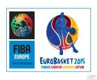 Basketball-Europameisterschaft 2015 logo