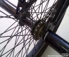 BMX Hinterrad