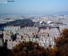 Gwangju ist eine Stadt in der Provinz Gyeonggi-do im Norden von Südkorea